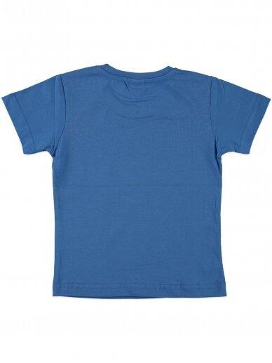 Mėlynos spalvos marškinėliai 0052D12 2