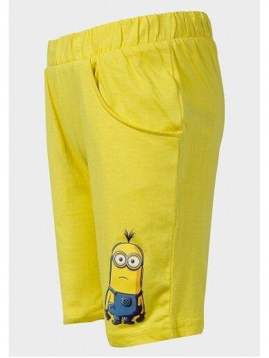 Minions vasariškas mėlynas geltonas kostiumėlis Pakalikai 1005D187 2