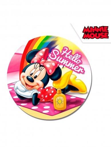 """Minnie Mouse"""" apvalus paplūdimio rankšluostis 120cm 1195D007"""
