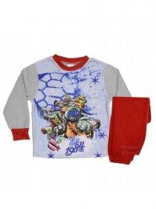 Pilka Raudona Pižama Teenage Mutant Ninja Turtles 0456D73