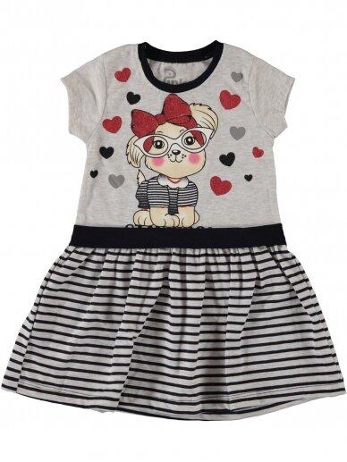 Pilka vaikiška suknelė Stay Cool 1073D213