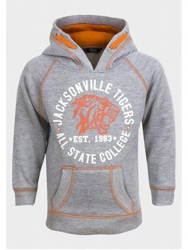 Pilkas džemperis Jacksonville Tigers 0450D70