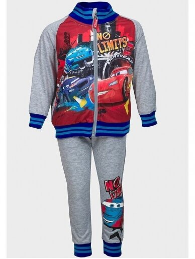 Pilkas sportinis kostiumas Cars No limits 1009D188