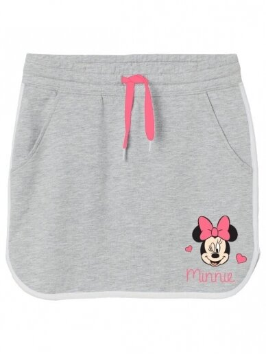 Pilkas vaikiškas sijonėlis Minnie Mouse 1229D016