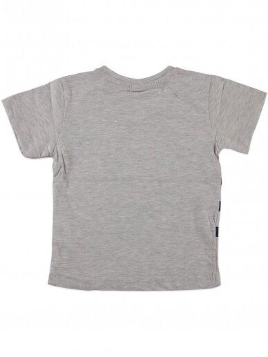 Pilkos spalvos marškinėliai 0051D12 2