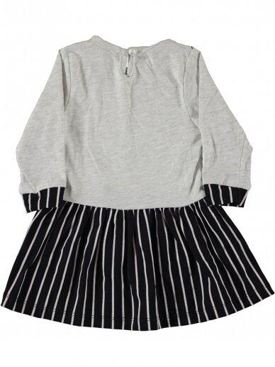 Pilkos spalvos vaikiška suknelė 0189D38 2