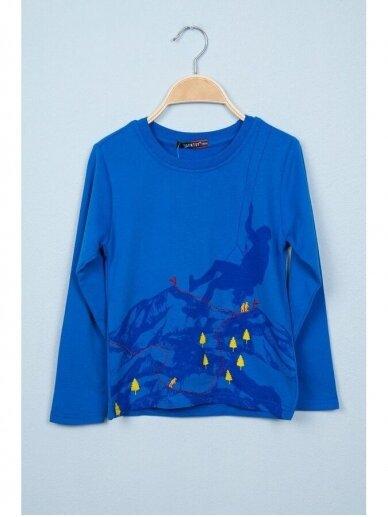 Plonas mėlynas džemperiukas Alpinistas 0816D165