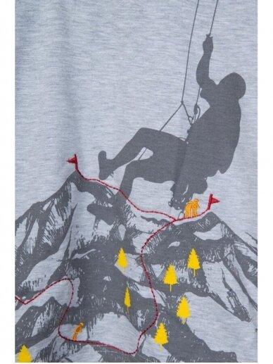 Plonas pilkas džemperiukas Alpinistas 0819D165 3