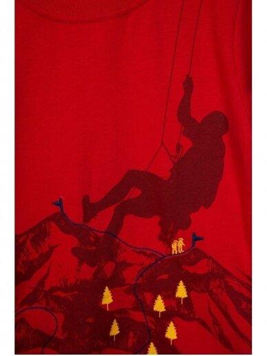 Plonas raudonas džemperiukas Alpinistas 0815D165 2