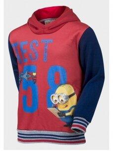 Raudonas mėlynas džemperis Minions 1026D191