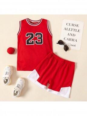 Raudonas sportinis kostiumas 23 1259D167
