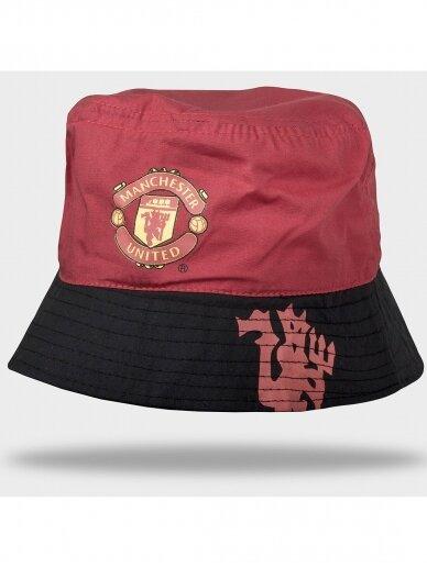 Raudona juoda kepurė Manchester United 1096D200