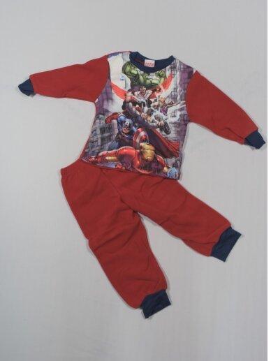 Raudona Pižama Marvel Avengers Assemble 0776D153