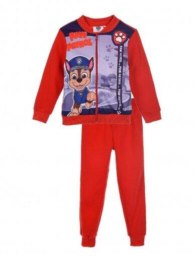 Raudonas sportinis kostiumas PAW PATROL 0066D14