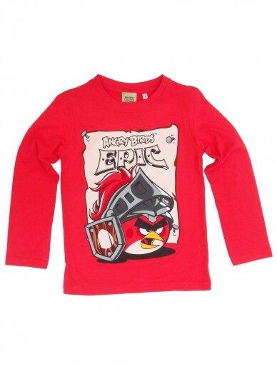Raudoni marškinėliai ilgomis rankovėmis Angry Birds Epic 1239D208
