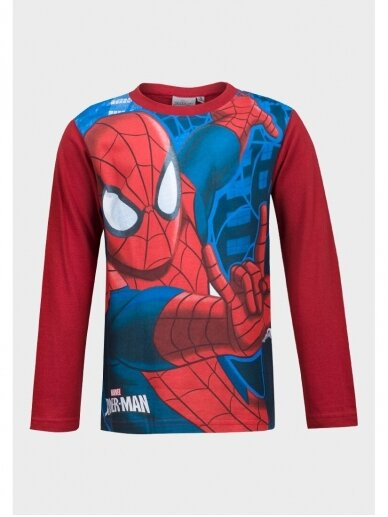 Raudoni marškinėliai ilgomis rankovėmis Spiderman 1054D195