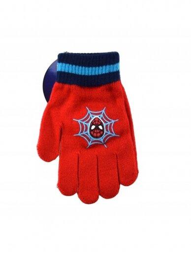 Raudonos pirštinės Spiderman 1300D170