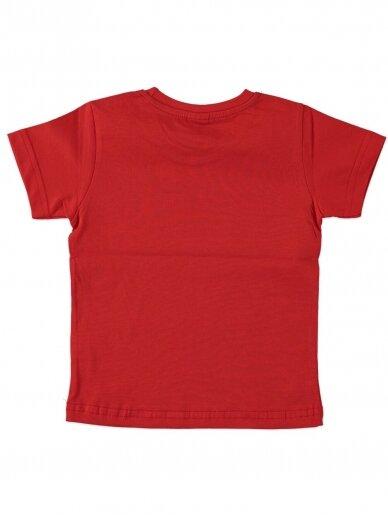Raudonos spalvos marškinėliai 0048D12 2