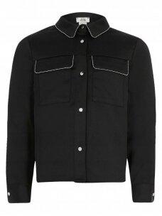 River Island juodi marškiniai 0850D168