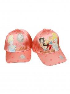 Rožinės spalvos kepurė su snapeliu Cinderella 1184D199