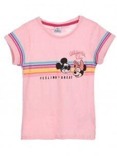 Rožinės spalvos marškinėliai MINNIE MOUSE 0408D062