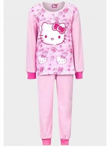 Rožinės spalvos pižama Hello Kitty 0100D25