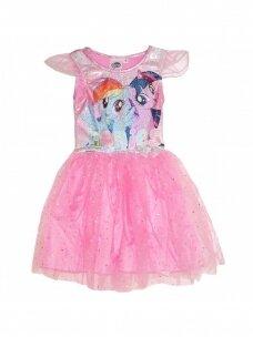 Rožinės spalvos suknelė su tiuliu My Little Pony 1165D239