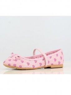 Rožinės spalvos vaikiškos balerinos 0771BD