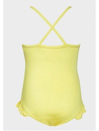 Rožinės ir geltonos spalvos vientisas maudymukas Minions 1041D194 2
