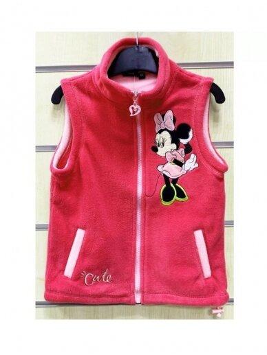 Rožinės spalvos liemenė Minnie Mouse 1309D171