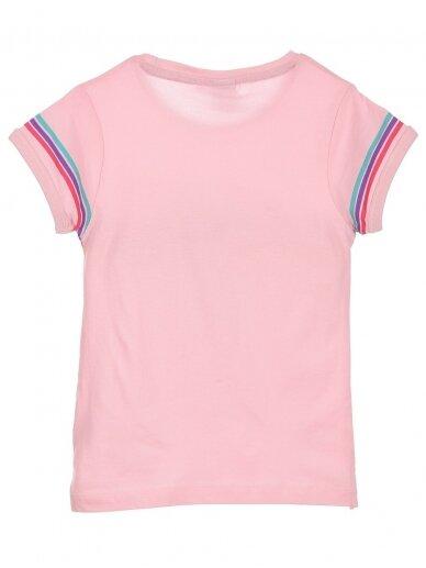 Rožinės spalvos marškinėliai MINNIE MOUSE 0408D062 2