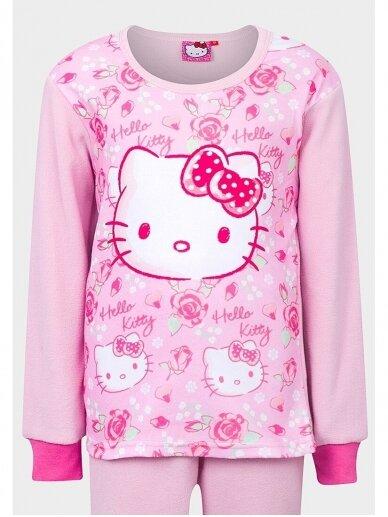 Rožinės spalvos pižama Hello Kitty 0100D25 2