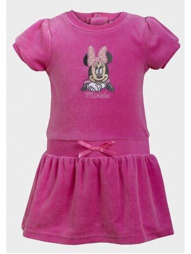 Rožinės spalvos suknelė Minnie Mouse 0960D180