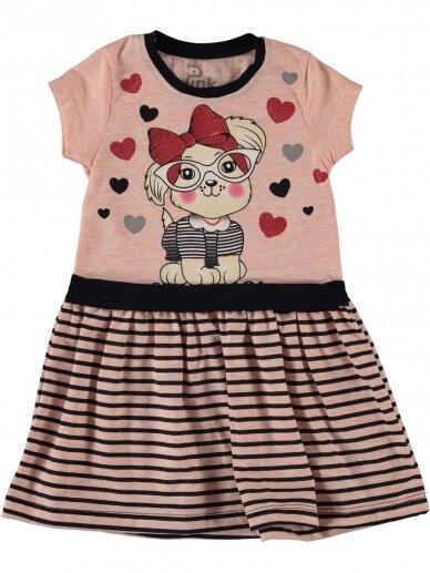 Rožinės spalvos vaikiška suknelė Stay Cool 1074D213