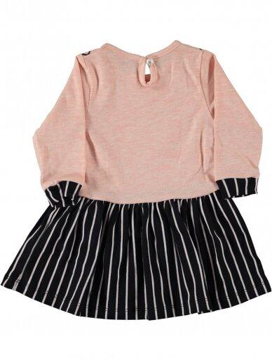 Rožinės spalvos vaikiška suknelė 0191D38 2