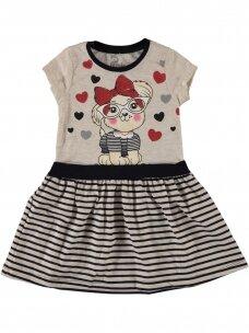 Smėlio spalvos suknelė Stay Cool 1078D214