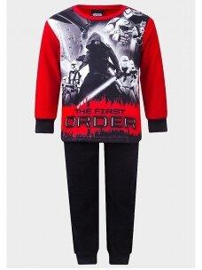 Star Wars raudona juoda pižama 0096D21