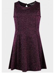 Stilinga metalizuota suknelė 0462D076