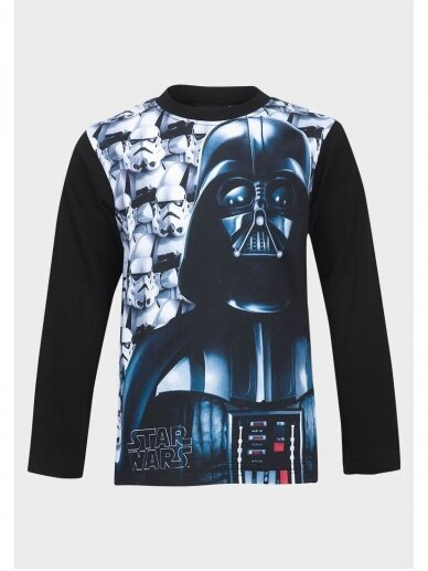 Star Wars juodi marškinėliai ilgomis rankovėmis 0963D181