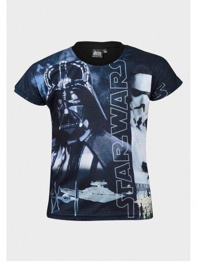 Star Wars marškinėliai trumpomis rankovėmis 1025D190 2