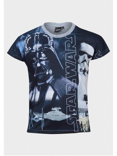 Star Wars marškinėliai trumpomis rankovėmis 1025D190 3