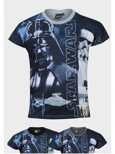 Star Wars marškinėliai trumpomis rankovėmis 1025D190 4