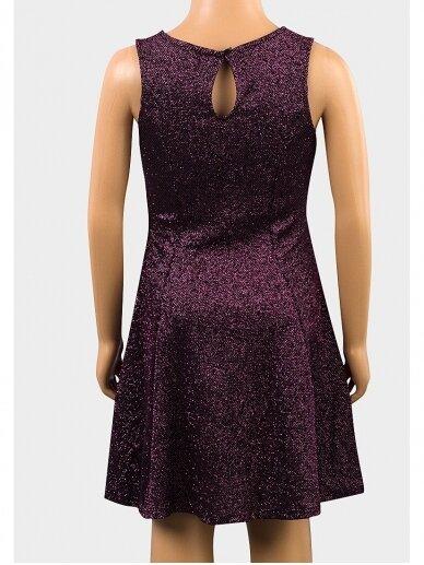 Stilinga metalizuota suknelė 0462D076 2