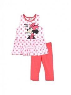 Suknelė ir rožinės spalvos tamprės MINNIE MOUSE 1173D240
