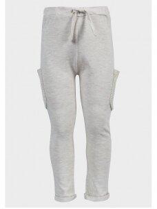 Šviesiai pilkos kelnės su kišenėmis 0335D056
