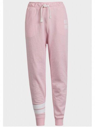 Šviesiai rožinės sportinės kelnės Girl Power 0719D137