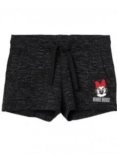 Tamsiai pilki šortai Minnie Mouse 0336D056