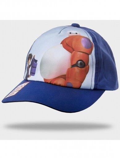 Tamsiai mėlyna kepurė su snapeliu Big Hero 1097D200