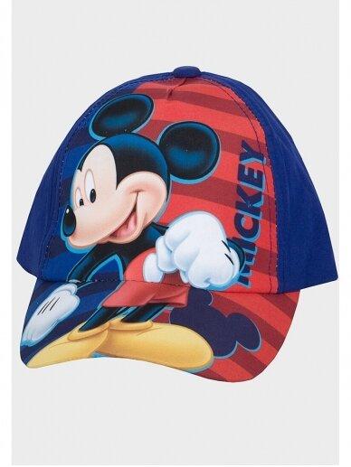 Tamsiai mėlyna kepurė su snapeliu Mickey Mouse 1101D200