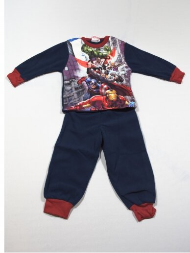 Tamsiai Mėlyna Pižama Marvel Avengers Assemble 0510D93